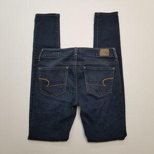 American Eagle Long Skinny Denim Jegging Jeans